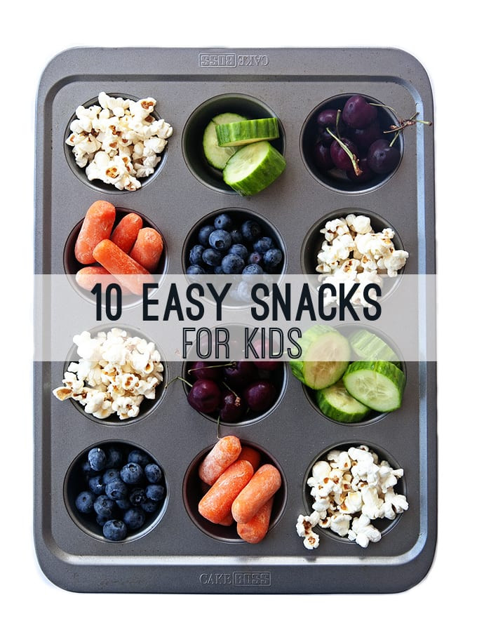 Easy Healthy Snacks For Toddlers  10 Easy Healthy Snacks for Kids Some the Wiser