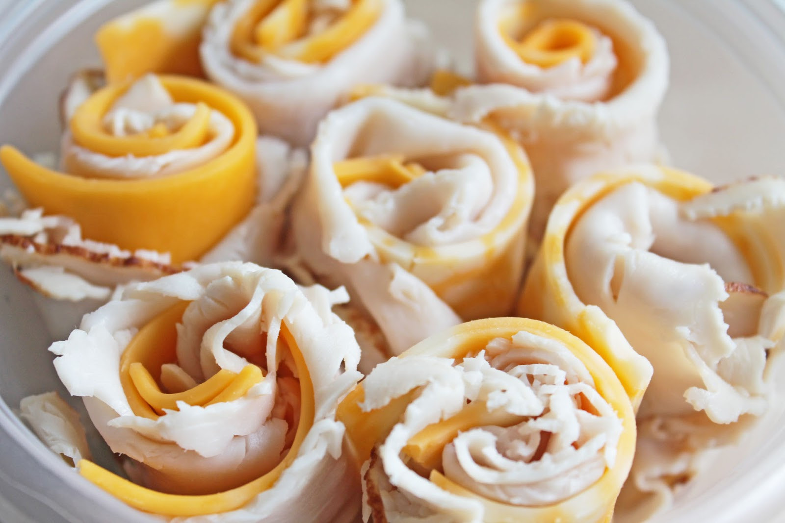 Easy Healthy Snacks For Work  Easy to Make Snacks Turkey and Cheese Rolls Recipe