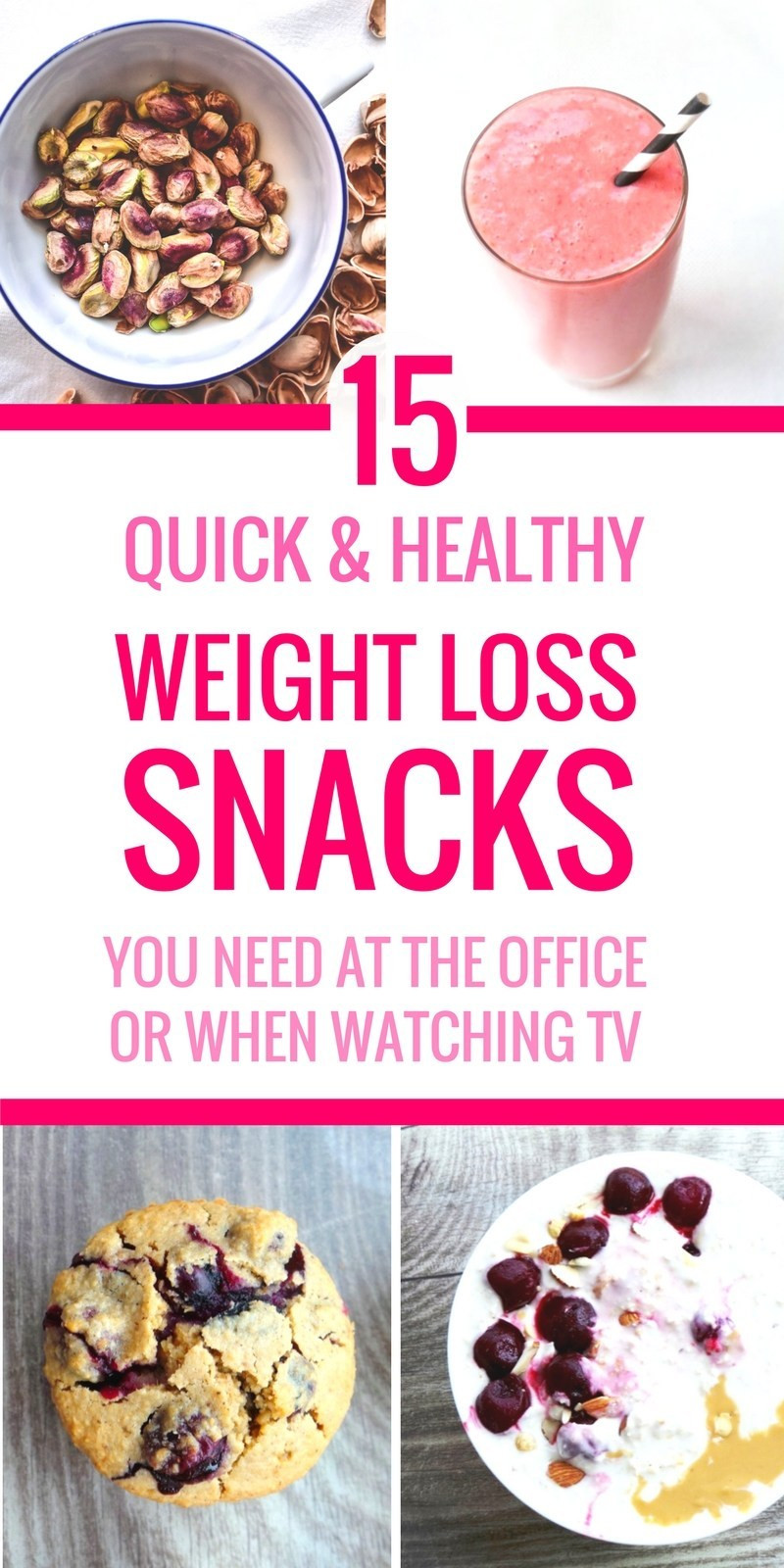 Easy Healthy Snacks On The Go  Easy Healthy Snacks The Go At Work or Watching TV