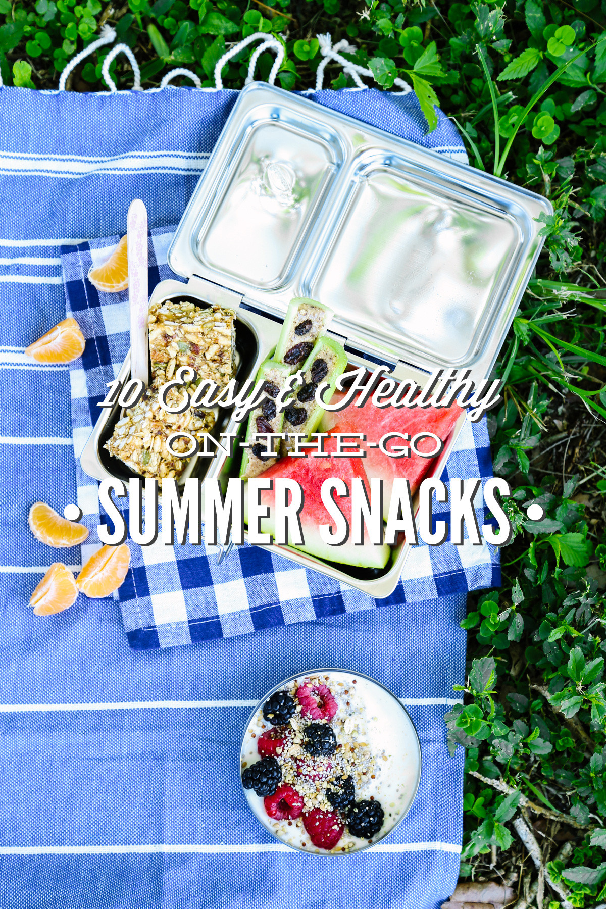 Easy Healthy Snacks On The Go  10 Easy and Healthy the Go Summer Snacks Live Simply
