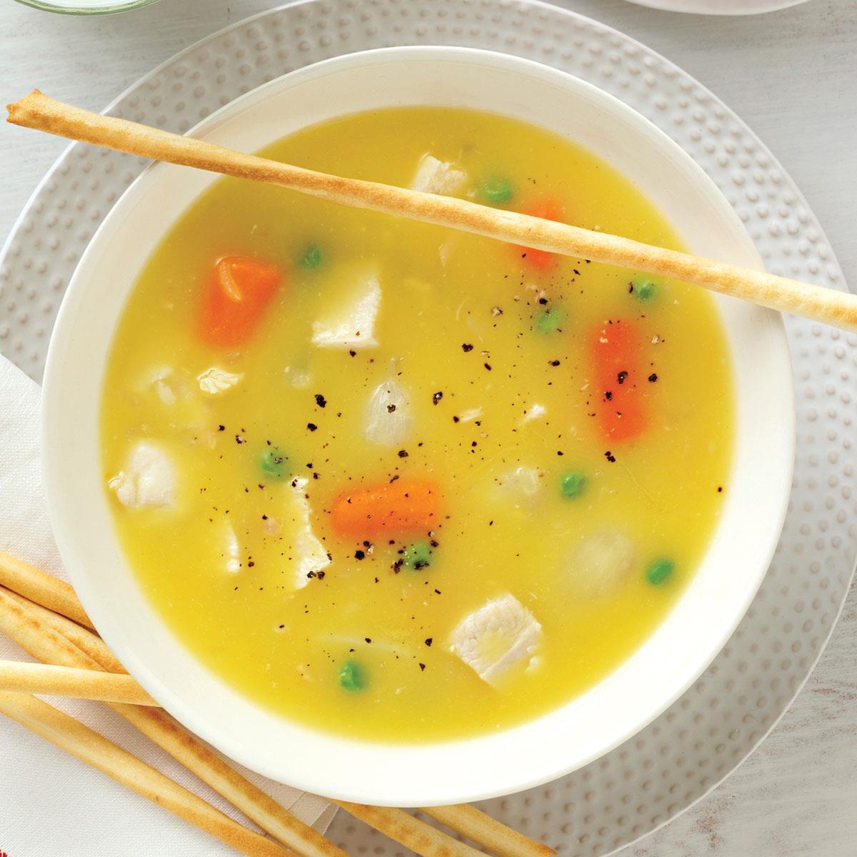 Easy Healthy Soups  Simple Chicken Soup Recipe