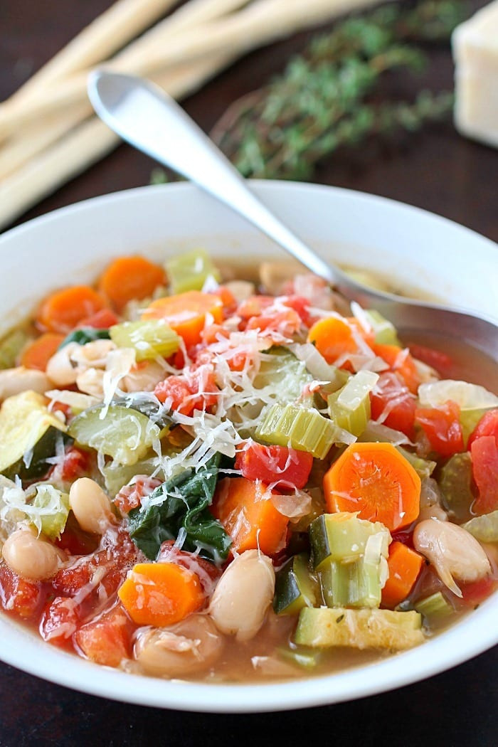 Easy Healthy Soups  Healthy Tuscan Ve able Soup Yummy Healthy Easy