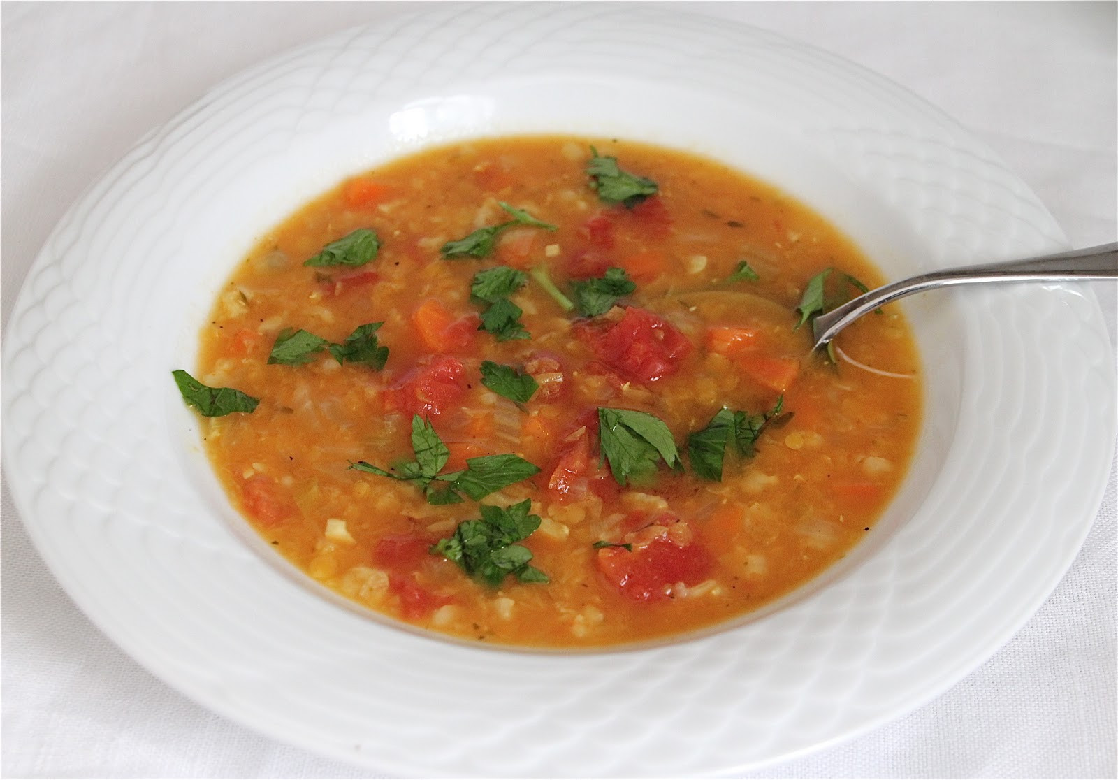 Easy Healthy Soups  recipes lentil soup