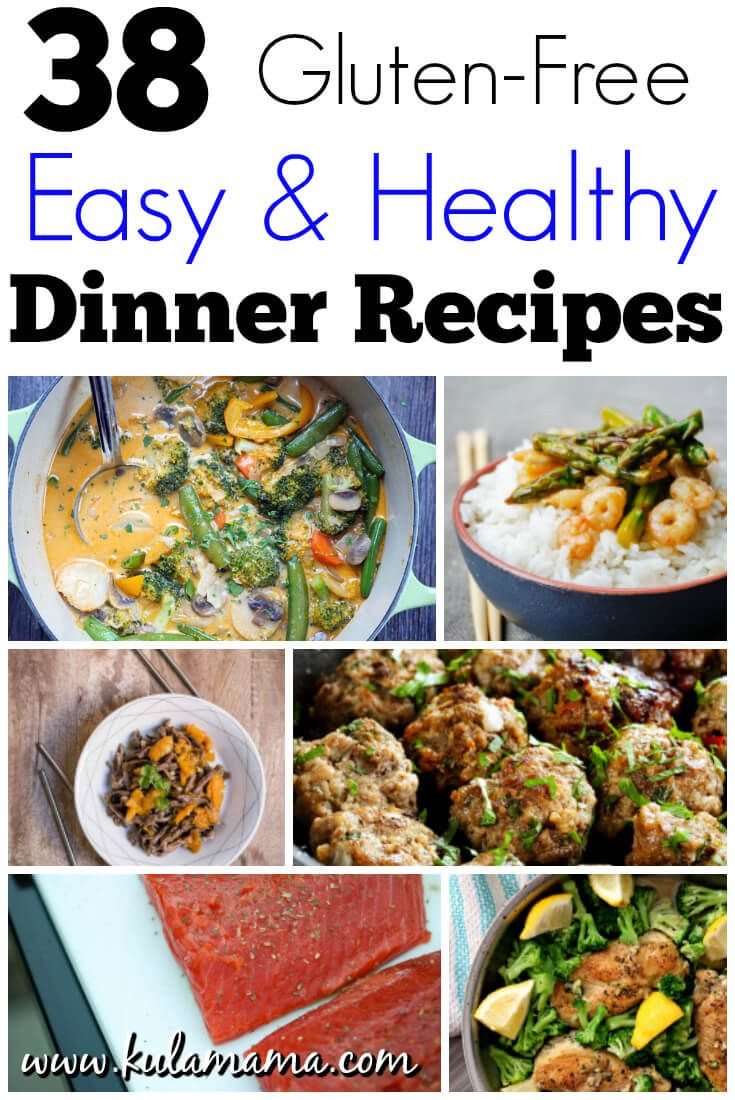 Easy Healthy Summer Dinners  38 Easy Healthy Dinner Recipes Gluten Free