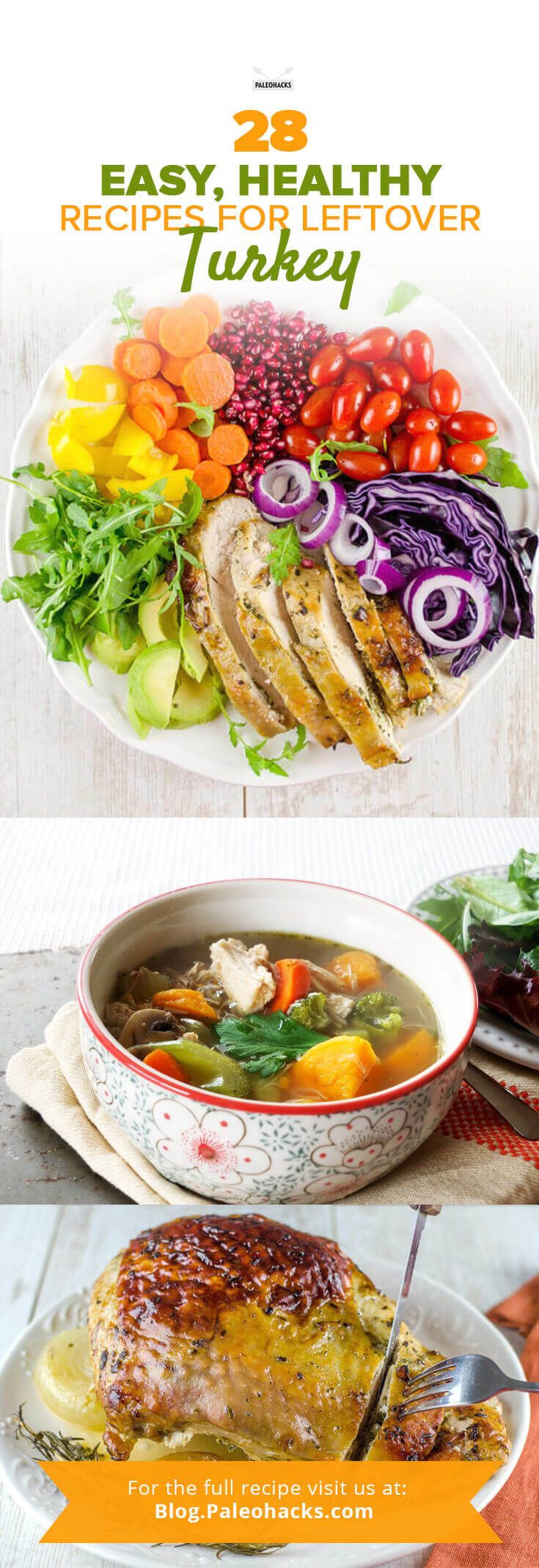 Easy Healthy Thanksgiving Recipes  Healthy leftover turkey recipes easy Food easy recipes