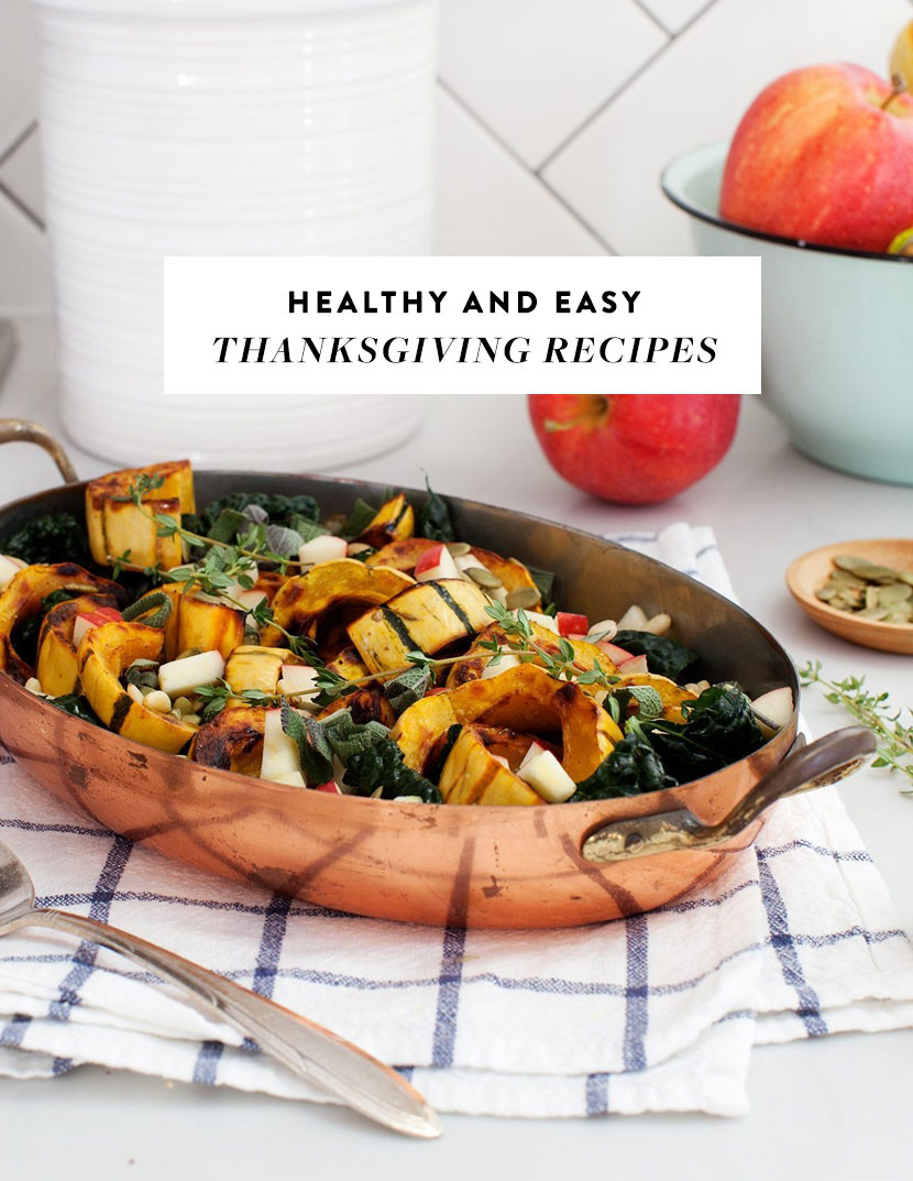 Easy Healthy Thanksgiving Recipes  Healthy and Easy Thanksgiving Recipes for Your Menu Plan