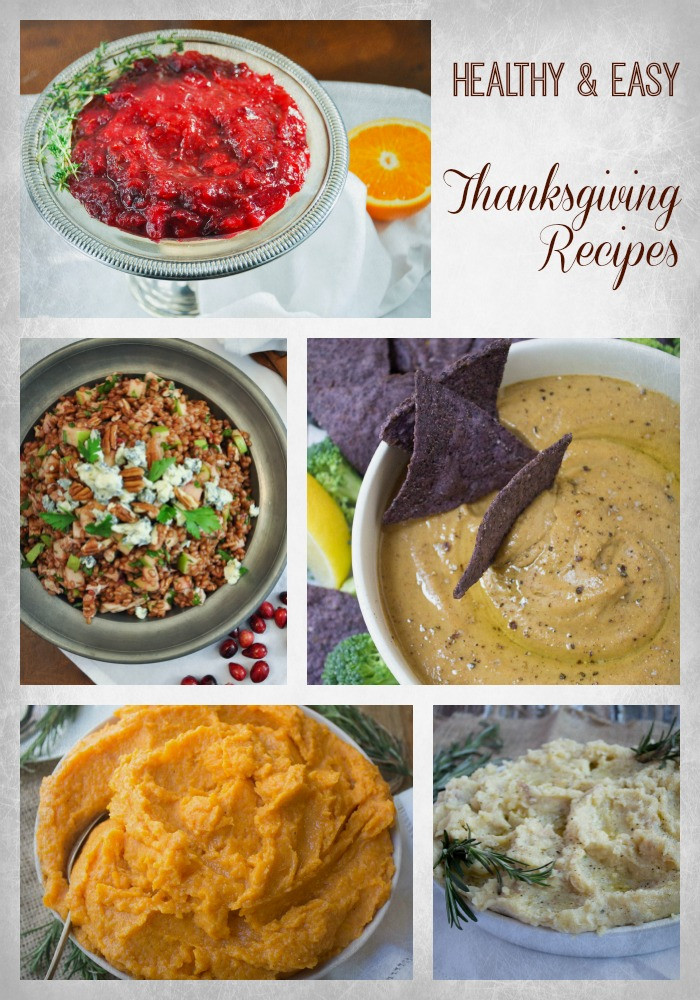 Easy Healthy Thanksgiving Recipes  Best Healthy Thanksgiving Recipes