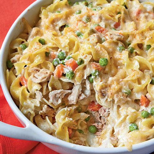 Easy Healthy Tuna Noodle Casserole  Best Tuna Casserole Recipe — Dishmaps