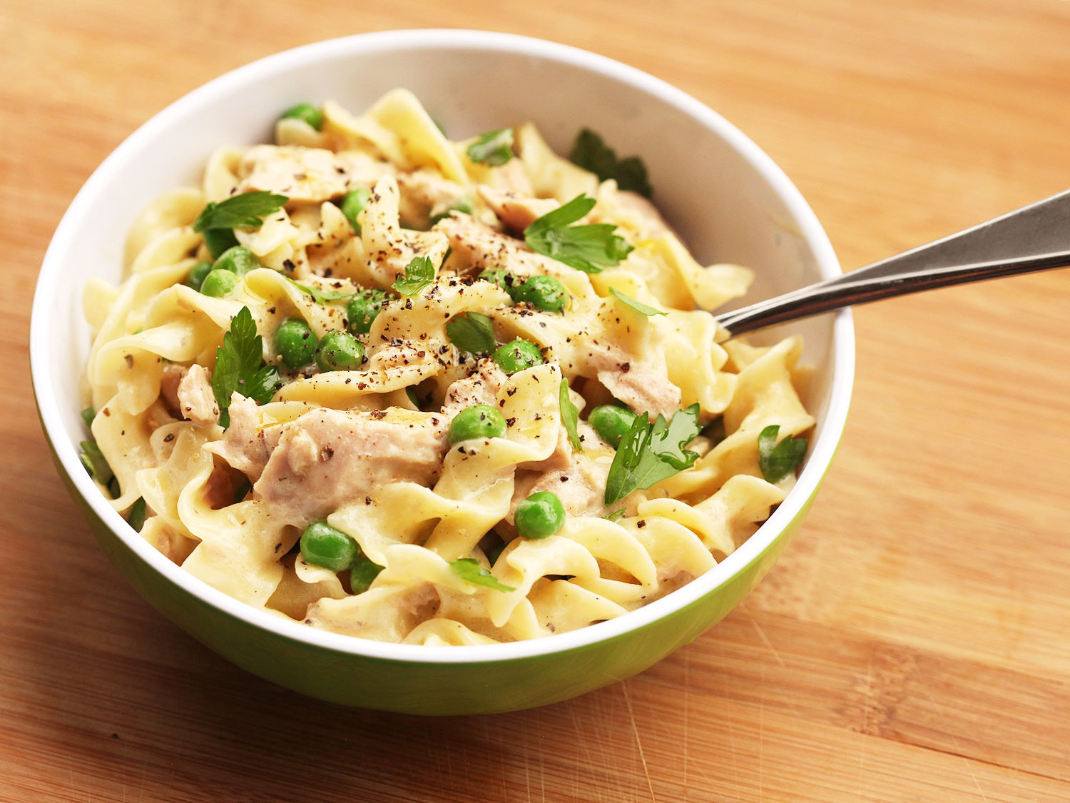 Easy Healthy Tuna Noodle Casserole  The Food Lab Turbo How to Make Lighter Tuna Noodle