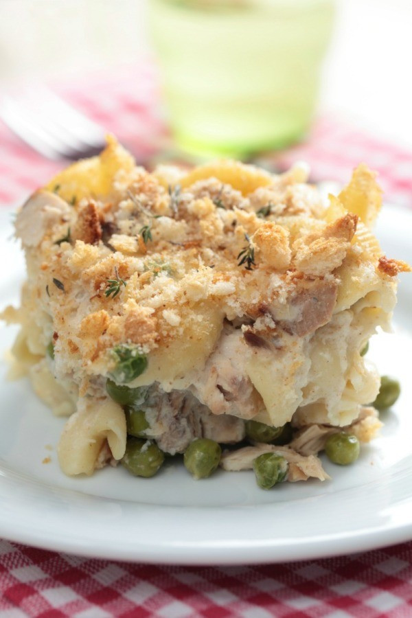 Easy Healthy Tuna Noodle Casserole  Tuna Noodle Casserole Recipes
