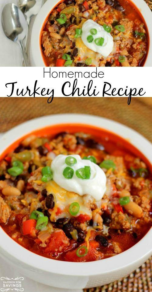 Easy Healthy Turkey Chili  Easy Thai Chicken Salad Recipe