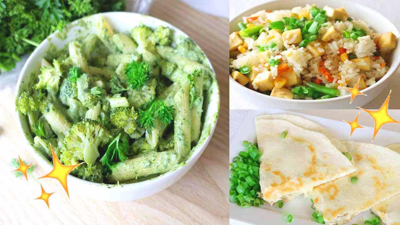 Easy Healthy Vegan Dinner Recipes  Easy & Healthy Dinner Ideas Vegan Recipes 🌿