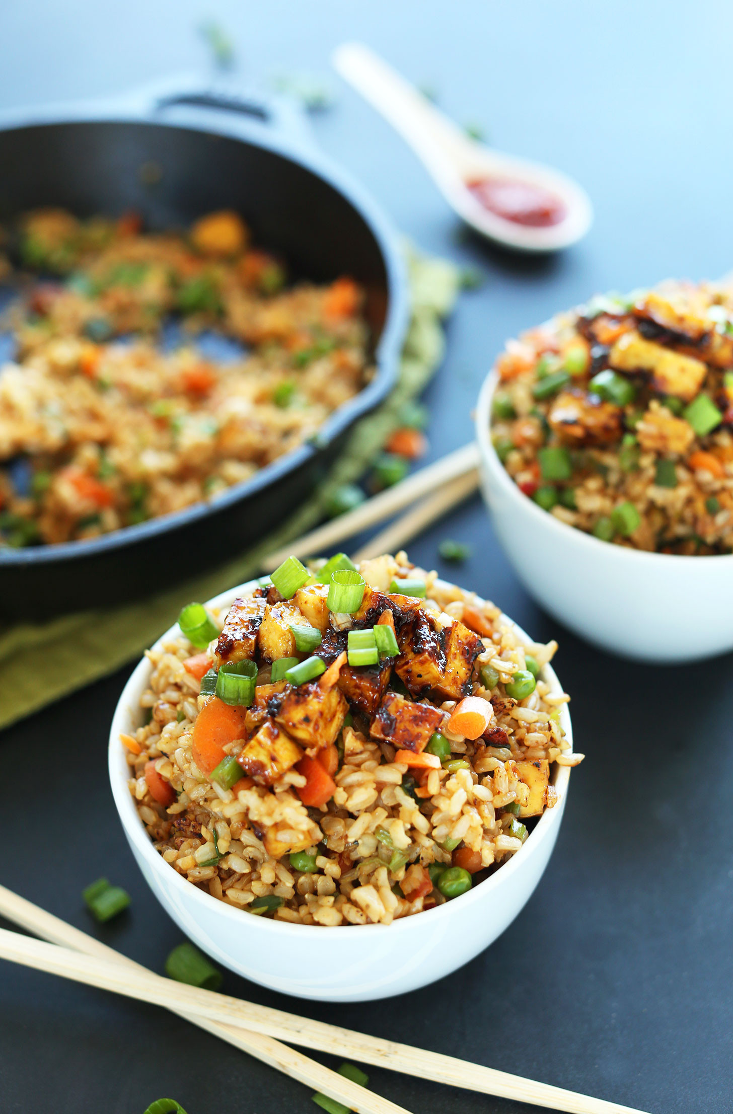 Easy Healthy Vegan Dinner Recipes  Vegan Fried Rice