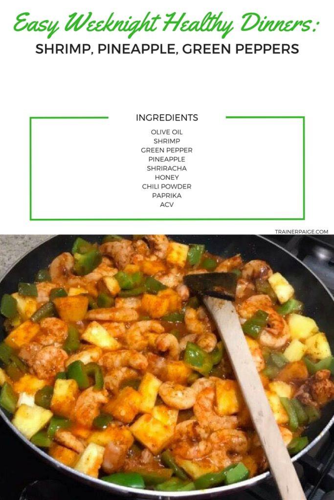 Easy Healthy Weeknight Dinners  Easy & Healthy Weeknight Dinners Sweet and Spicy Shrimp