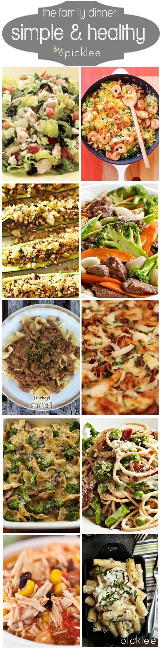 Easy Healthy Weeknight Dinners  10 Simple & Healthy Weeknight Dinners [recipes] Picklee