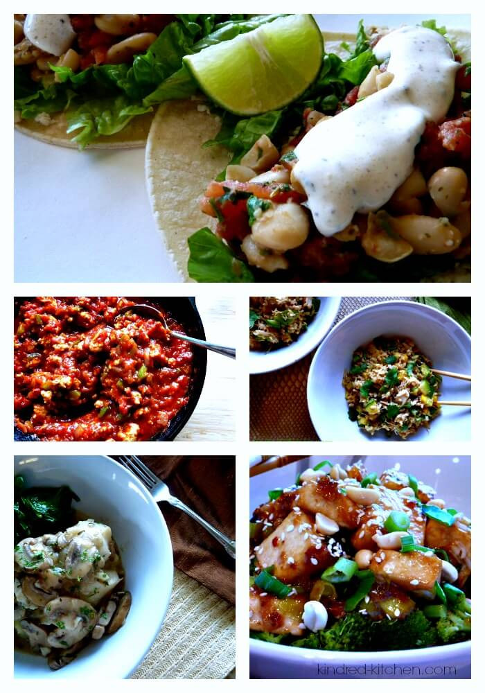 Easy Healthy Weeknight Dinners  Kindred Kitchen