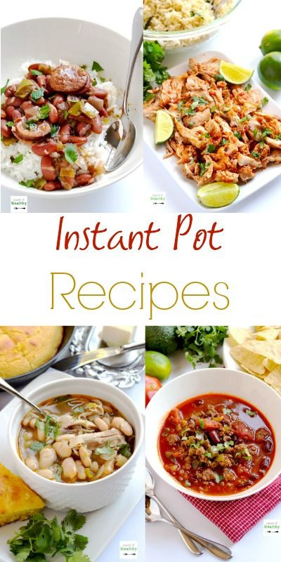 Easy Instant Pot Recipes Healthy  17 Best images about instant pot recipes on Pinterest