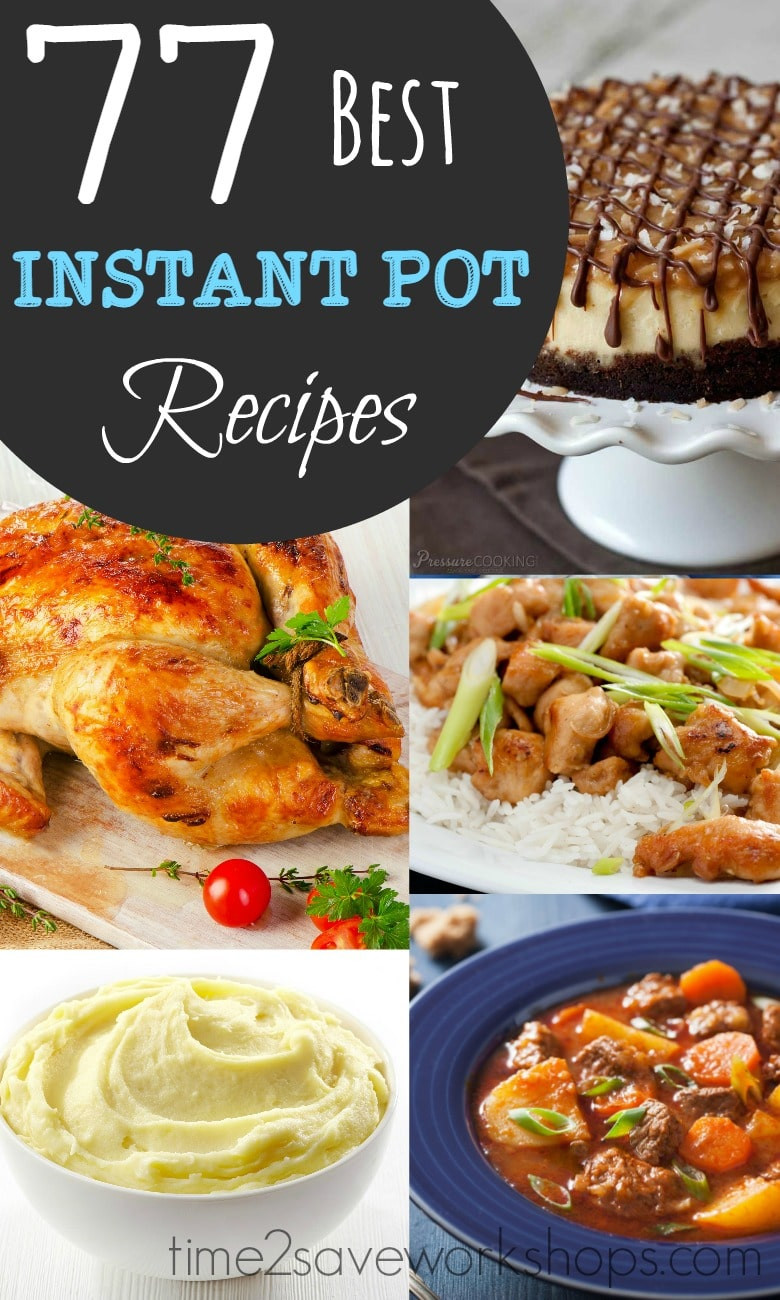 Easy Instant Pot Recipes Healthy  BEST Instant Pot Recipes to Try Kasey Trenum