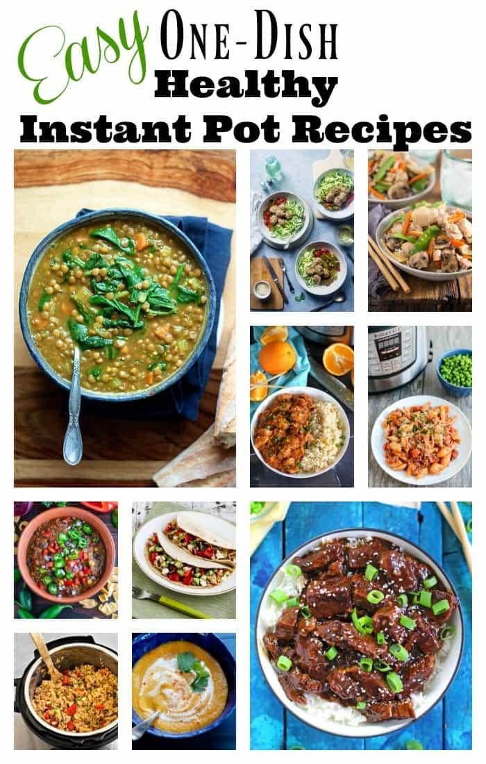 Easy Instant Pot Recipes Healthy  Easy e Dish Healthy Instant Pot Recipes Amee s Savory Dish