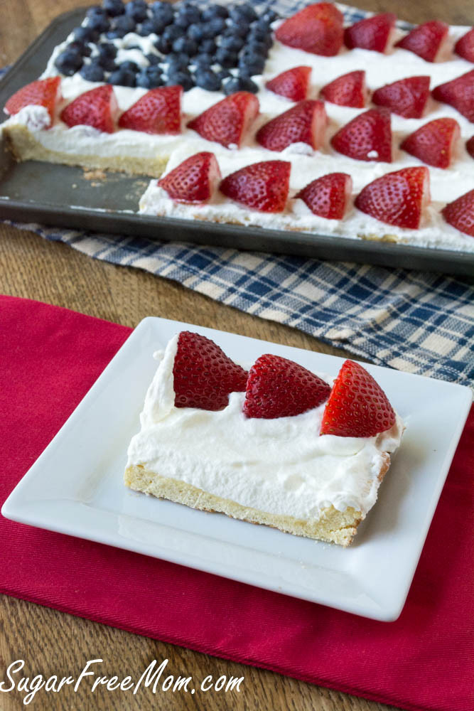 Easy July 4Th Desserts  Sugar Free 4th of July Cookie Dessert Pizza