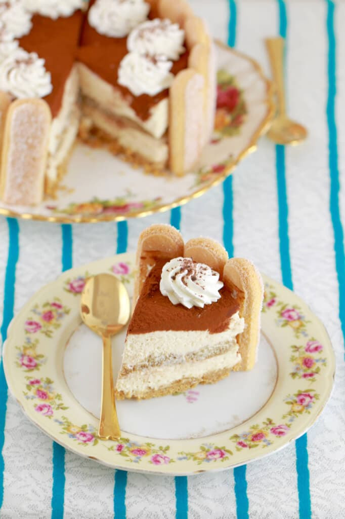 Easy Mother'S Day Desserts  No Bake Tiramisu Cheesecake for Valentine s Day Gemma's