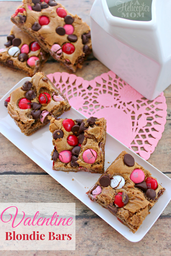 Easy Mother'S Day Desserts  Valentine Blon Bars Recipe Desserts A Helicopter Mom