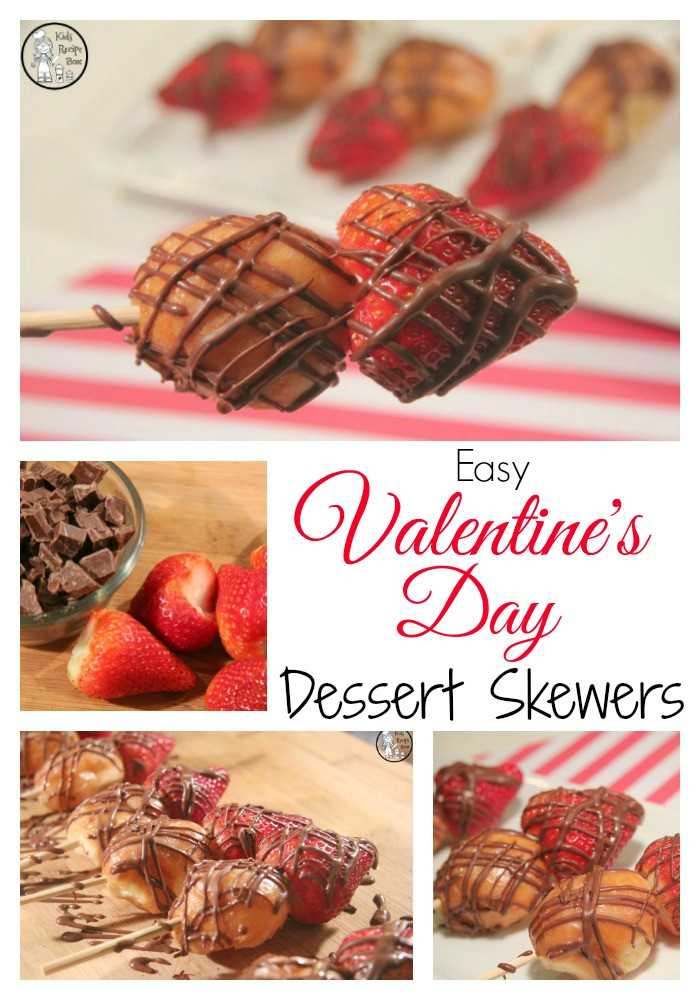 Easy Mother'S Day Desserts  Easy Valentine s Day Dessert Skewers Kids Recipe Box