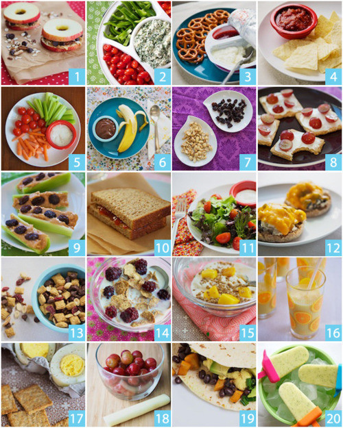 Easy Quick Healthy Snacks  Healthy Snacks