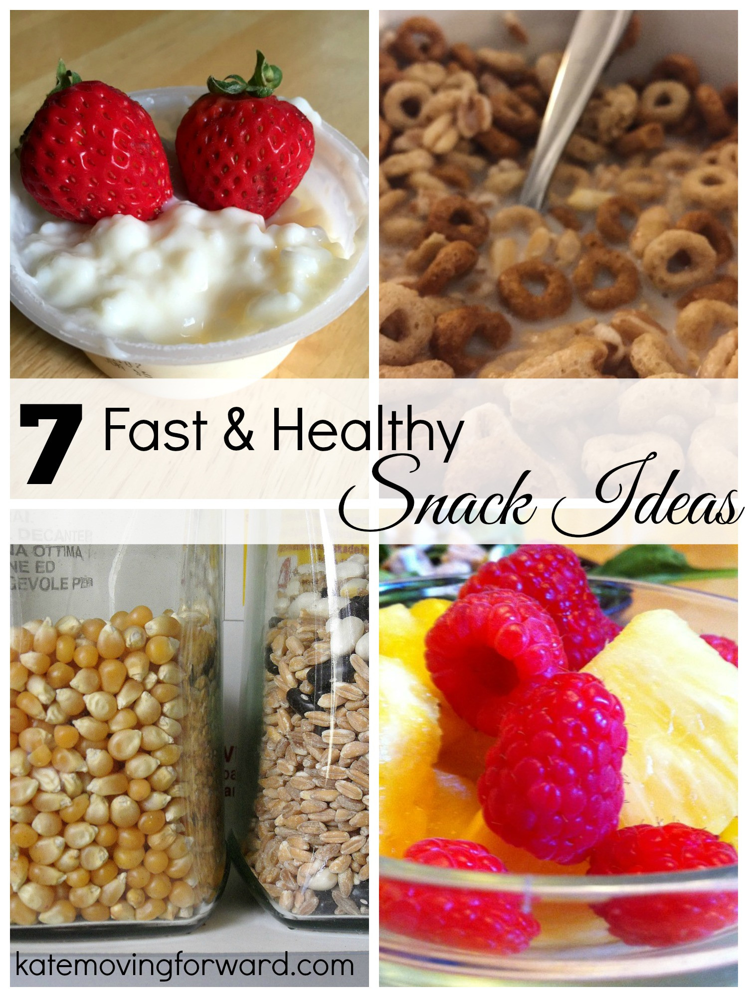 Easy Quick Healthy Snacks  Fast Healthy Snack Ideas