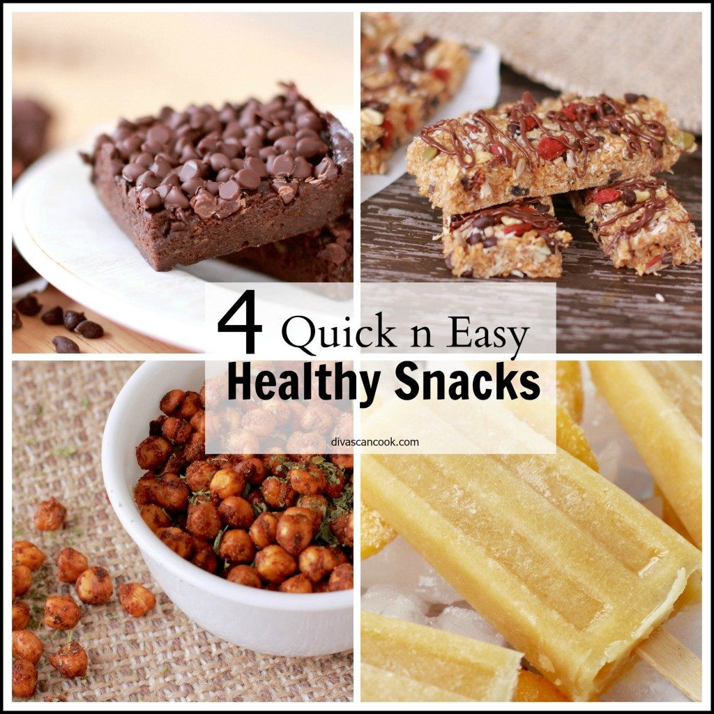 Easy Quick Healthy Snacks  Healthy Quick Snack Ideas