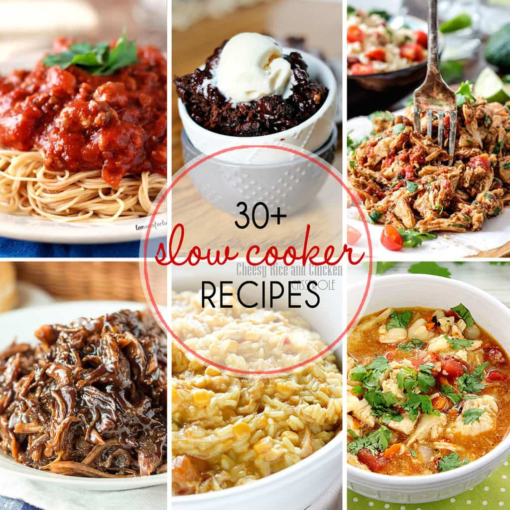 Easy Slow Cooker Recipes Healthy  30 Must Try Slow Cooker Recipes Yummy Healthy Easy