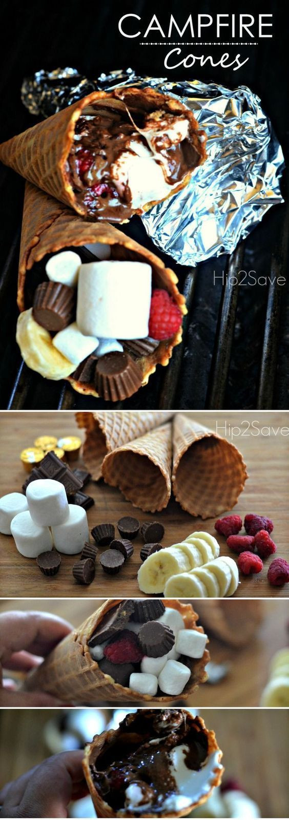 Easy Summer Desserts For A Party  520 best images about Camping Party Ideas on Pinterest