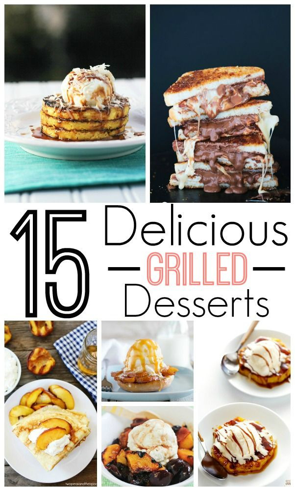 Easy Summer Desserts For Bbq  1000 images about Grilling Campfire on Pinterest