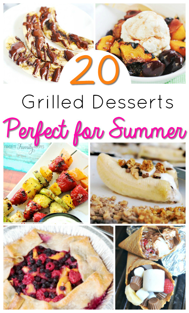 Easy Summer Desserts For Bbq  Easy Summer Desserts Grilled Desserts