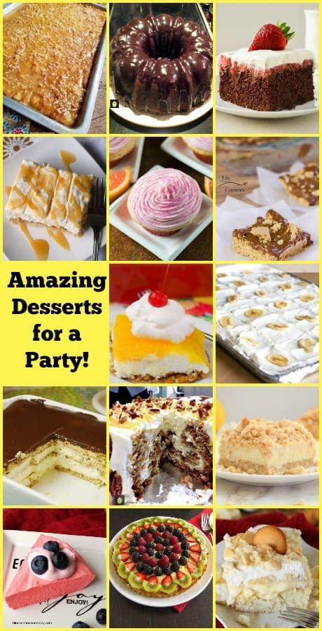 Easy Summer Desserts For Bbq  Amazing Desserts for a Party A great selection of easy