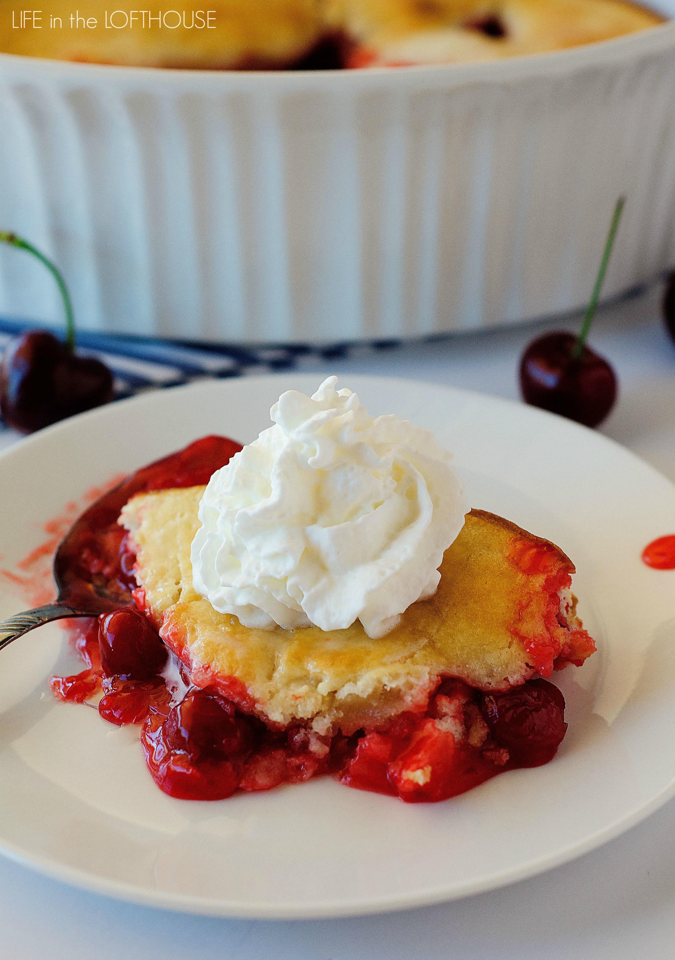 Easy Summer Desserts  Easy Cherry Cobbler