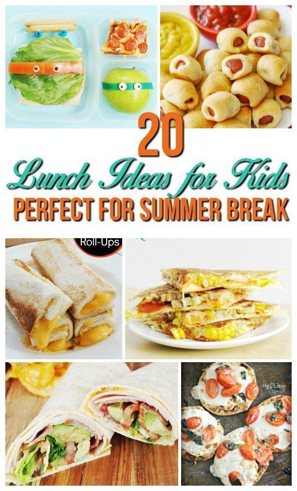 Easy Summer Dinner Recipes For Family  25 best Cold lunch ideas for kids on Pinterest