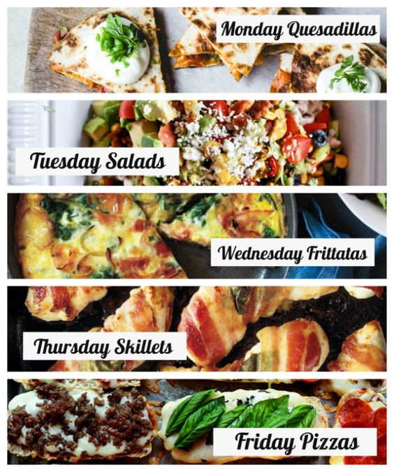 Easy Summer Dinner Recipes For Family  Family meal planning Easy family meals and Theme days on