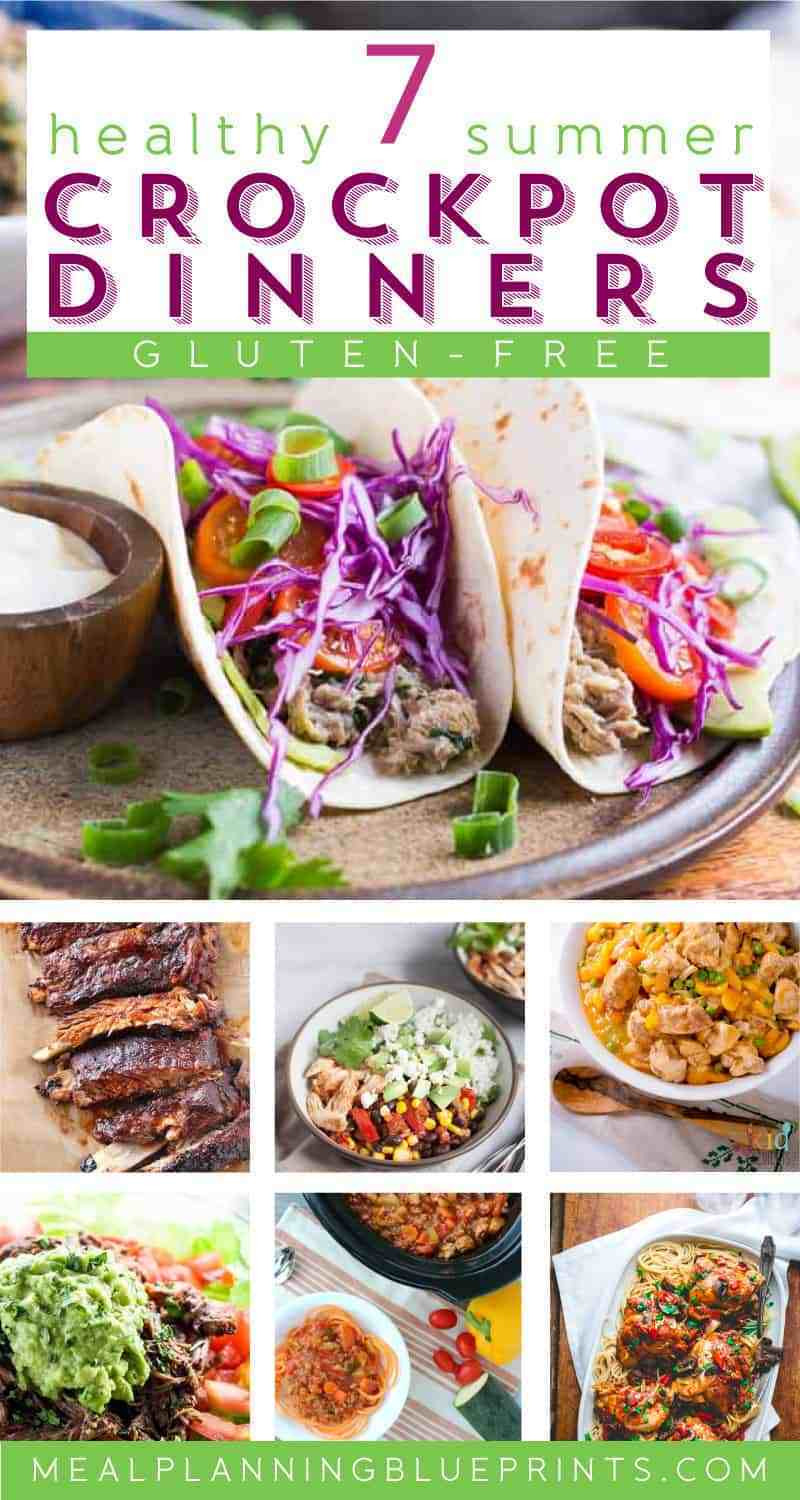 Easy Summer Dinner Recipes For Family  7 Summer Healthy Crockpot Dinners for Families Meal
