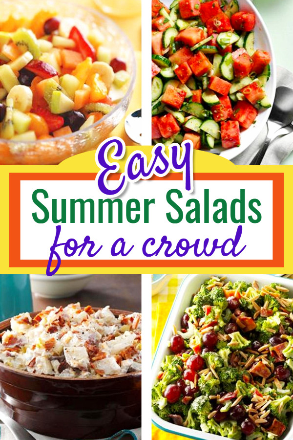 Easy Summer Dinners For A Crowd  Easy Summer Salads for a Crowd Summer Salad Recipes We Love