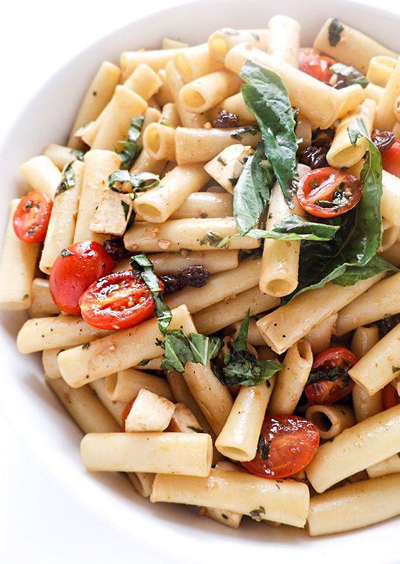 Easy Summer Dinners For A Crowd  Caprese Pasta Salad Recipe A quick and tasty summer