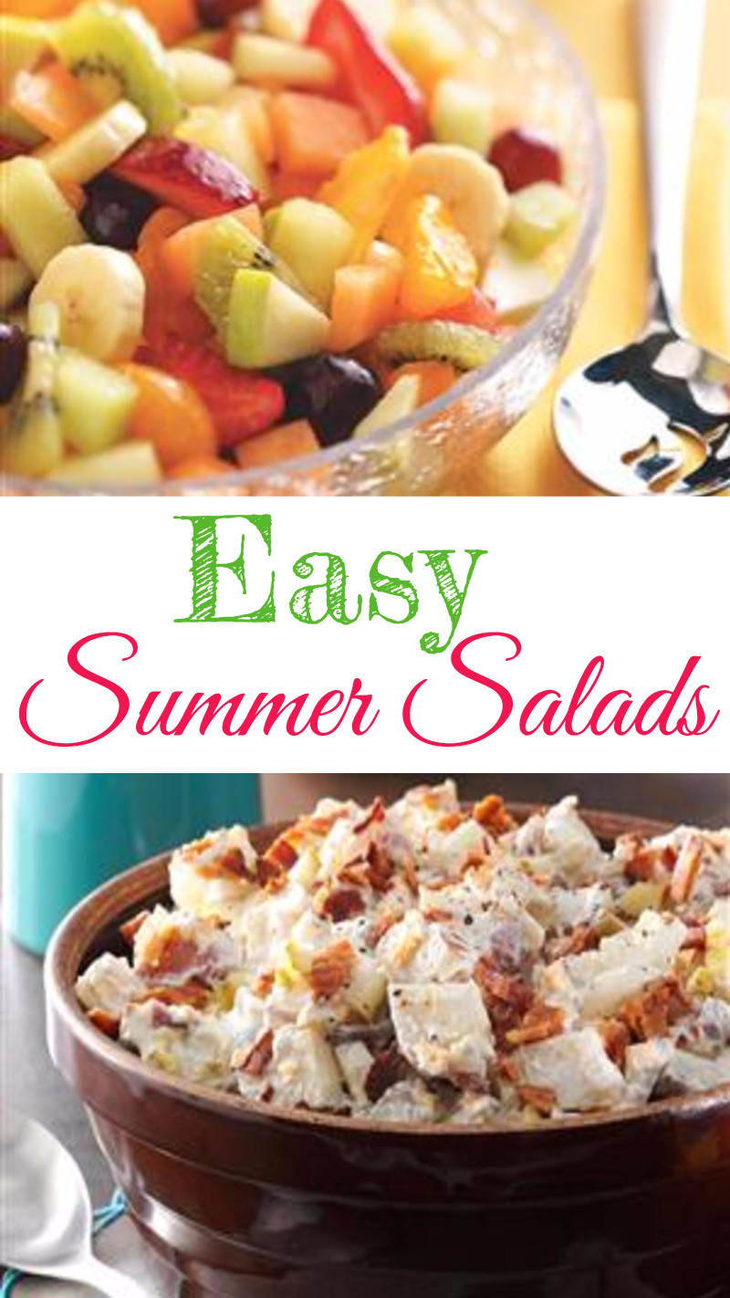 Easy Summer Dinners For A Crowd  5 Easy Summer Salads for a Crowd Summer Salad Recipes We