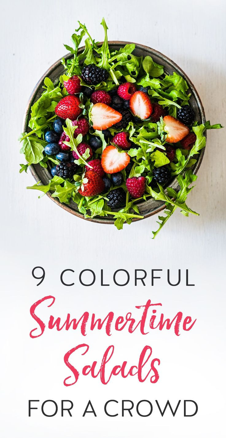 Easy Summer Dinners For A Crowd  291 best images about Yummy Salads on Pinterest