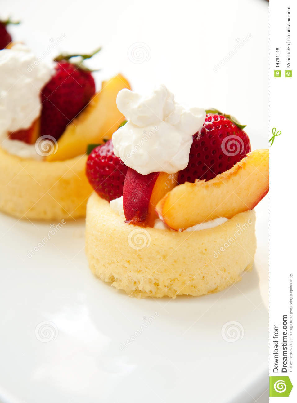 Easy Summer Fruit Desserts  Simple Summer Fruit Dessert Royalty Free Stock Image