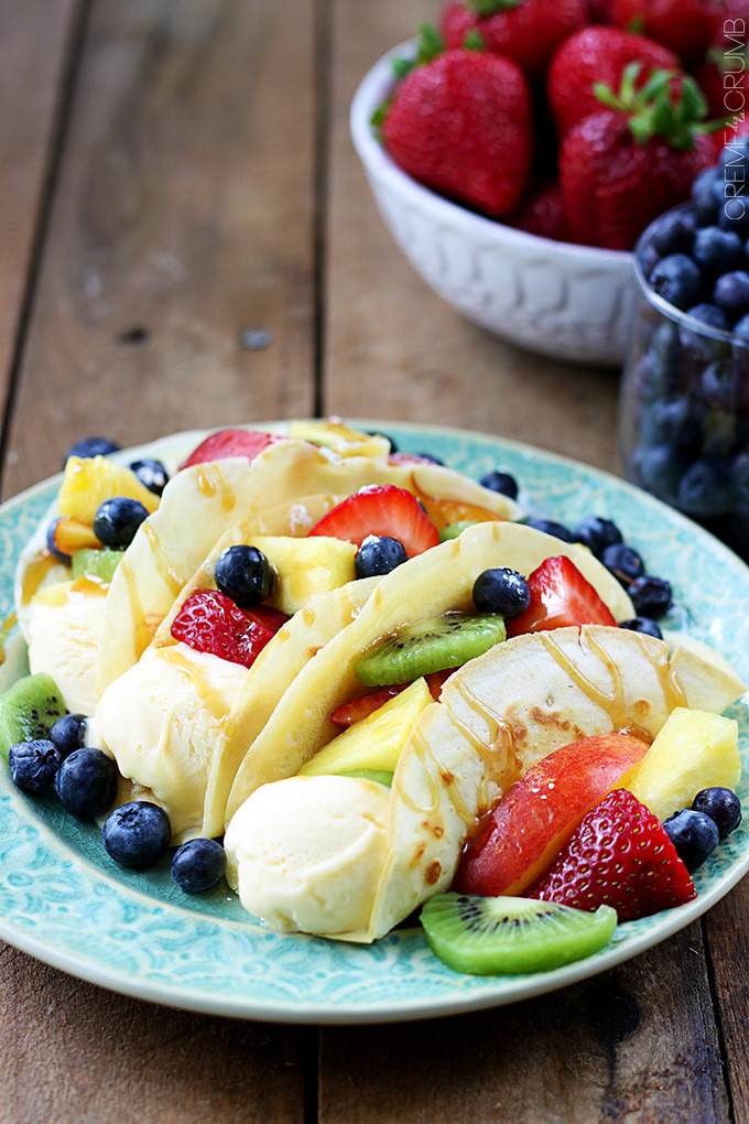 Easy Summer Fruit Desserts  Taco Tuesday 10 Dessert tacos that prove sweet is better