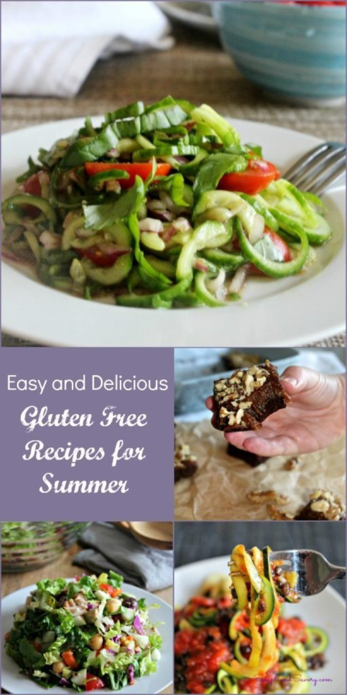 Easy Summer Vegetarian Recipes  10 Easy and Delicious Gluten Free Recipes for the Summer