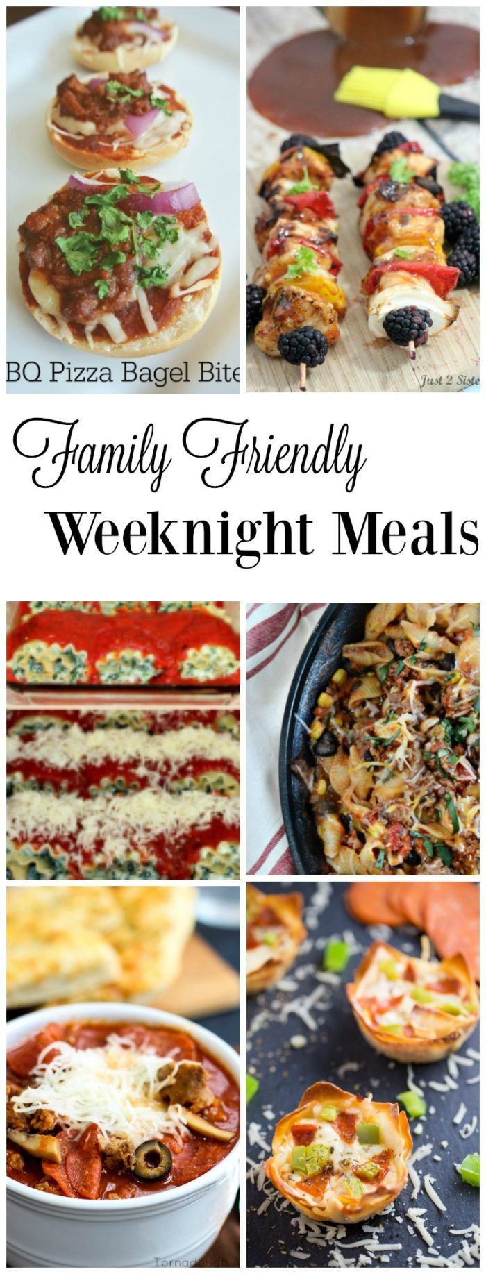 Easy Summer Weeknight Dinners  Family Friendly Weeknight Meals Summer Meals