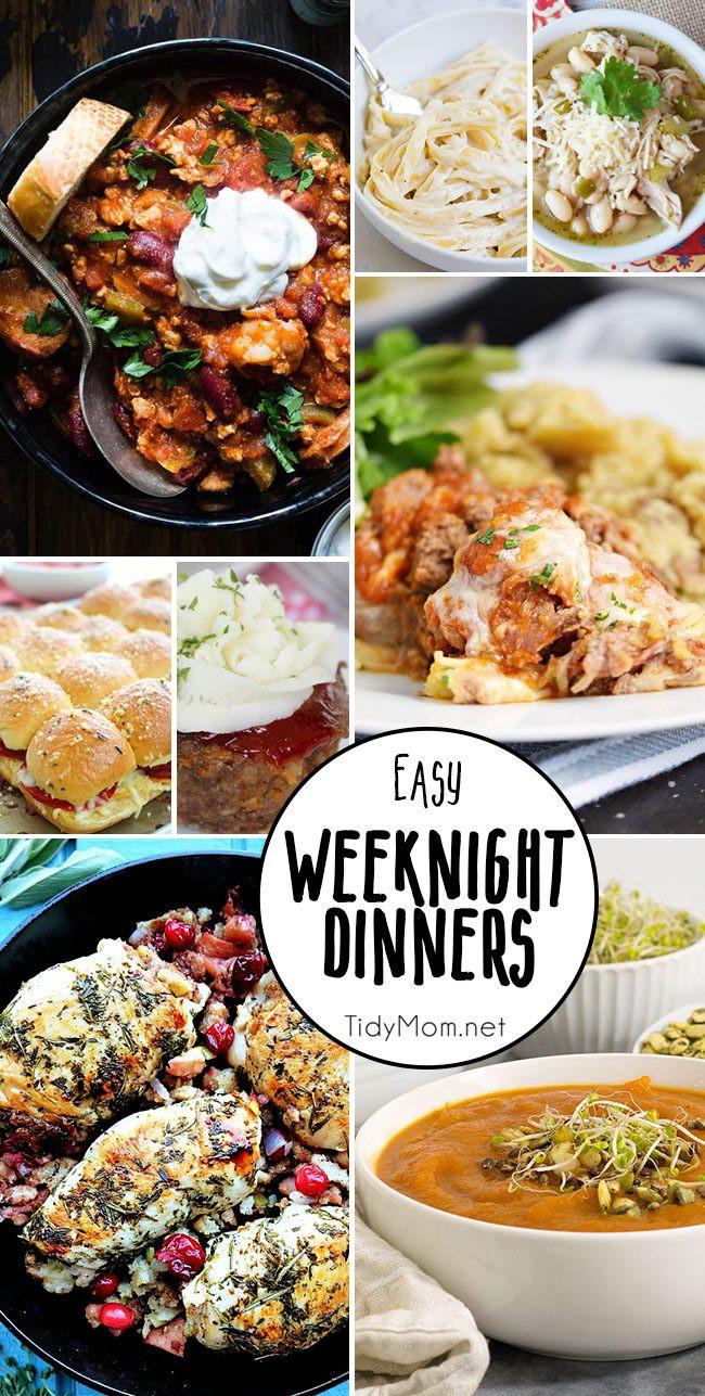 Easy Summer Weeknight Dinners  Easy Weeknight Dinners to Try This Week