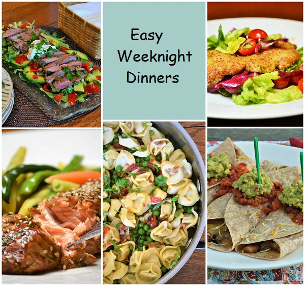 Easy Summer Weeknight Dinners  Five Easy Weeknight Dinners Jersey Girl Cooks