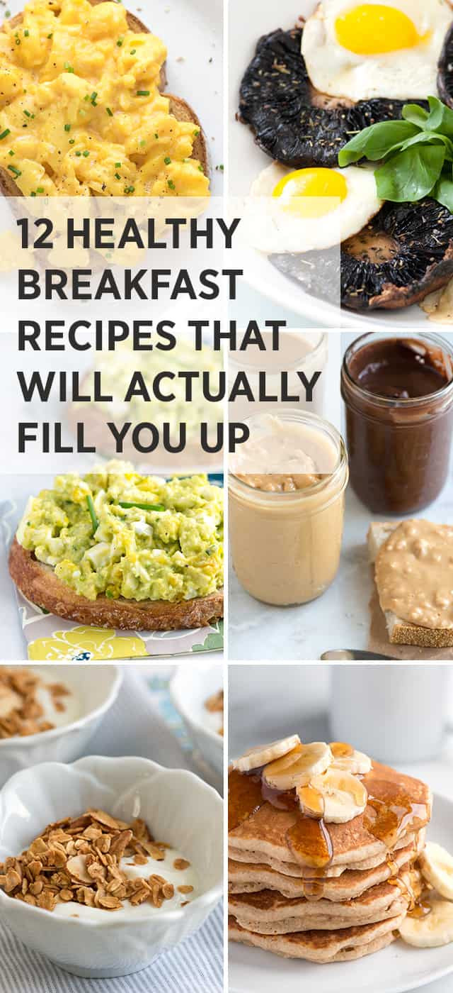Easy To Make Healthy Breakfast  12 Healthy Easy Breakfast Recipes That Fill You Up